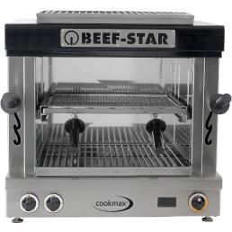 Hochtemperaturgrill Beef-Star 2 Heizzonen 600 x 520 x 600 mm