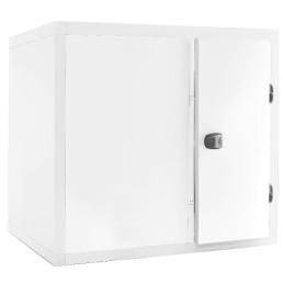 Kühlzelle 3,51m³ 1700 x 1400 x 2110 mm 80 mm Wandisolierung