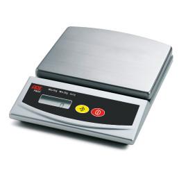 Elektronische Portionswaage, bis 5 kg, Batteriebetrieb