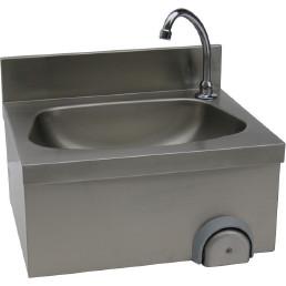 Handwaschbecken eckiges Becken Wandmontage 500 x 400 x 240 mm