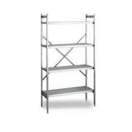 NORM 20 – Aluminium-Regal 800 x 500 x 1800 mm