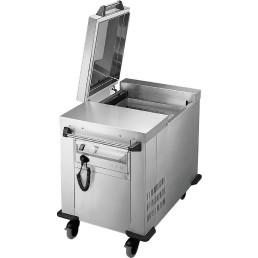 Plattformstapler geschlossen fahrbar / Umluft gekühlt / 535 x 505 mm