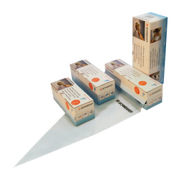 Einweg-Spritzbeutel 300 x 160 mm / 75 My / 1 Box = 100 Stück blau