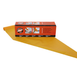 Einweg-Spritzbeutel 530 x 280 mm / 80 My / 1 Rolle = 100 Stück orange